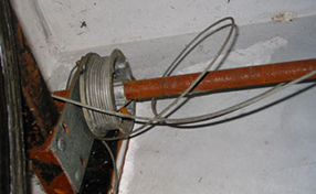 Cable Tracks Garage Door Panorama City Ca