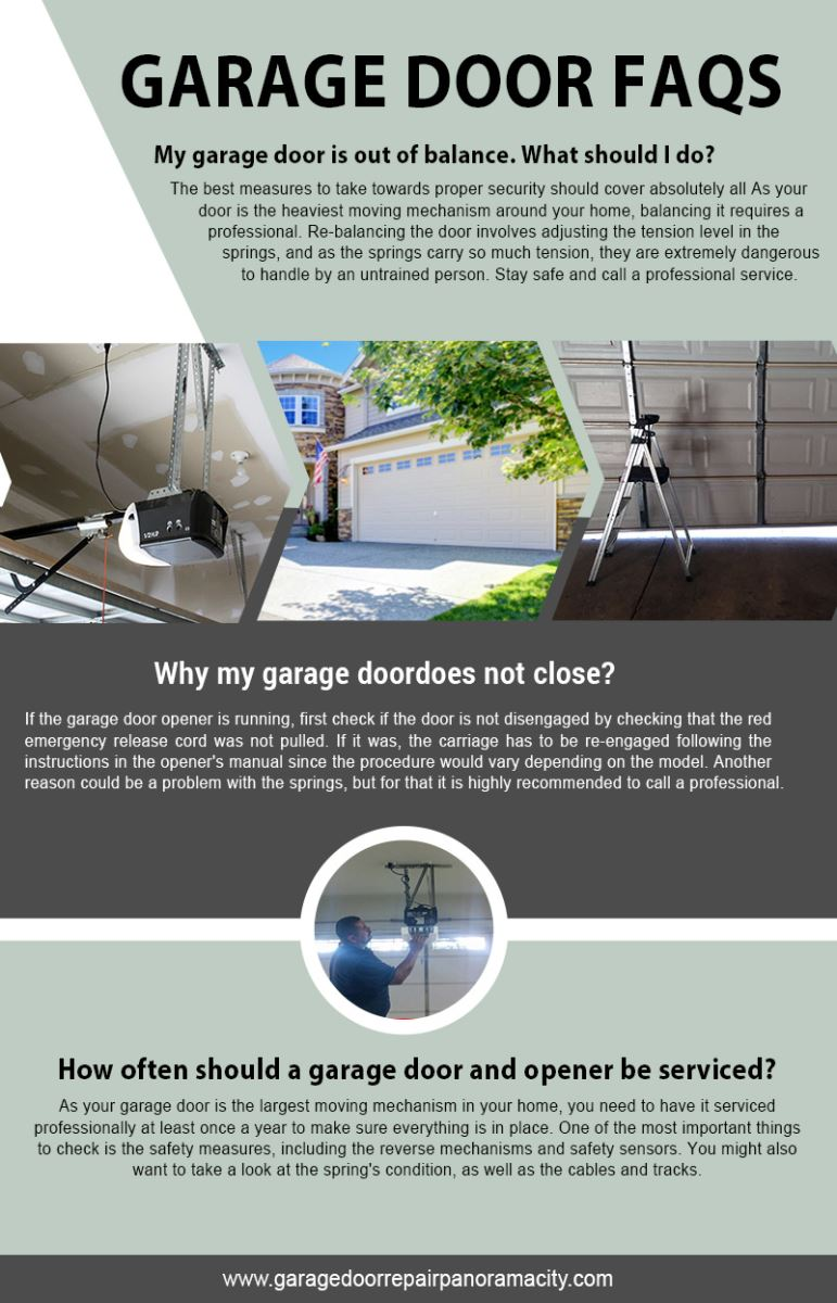 Garage Door Repair Panorama City Infographic